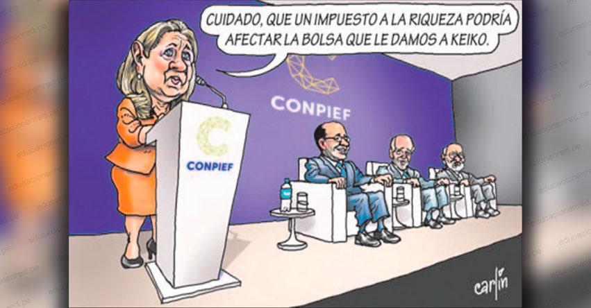 Carlincaturas Sábado 25 Abril 2020 - La República