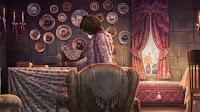 Dolores Umbridge nel suo ufficio a Hogwarts
