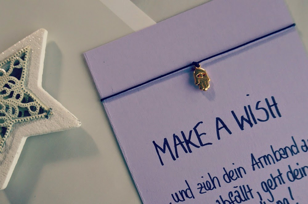 diy make a wish armband das perfekte geschenk. Black Bedroom Furniture Sets. Home Design Ideas