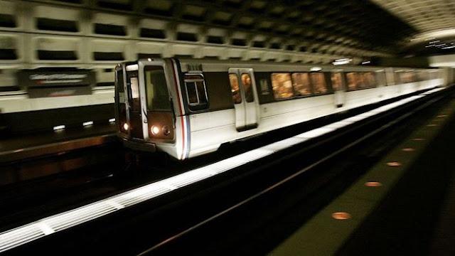 Andar de metrô em Washington