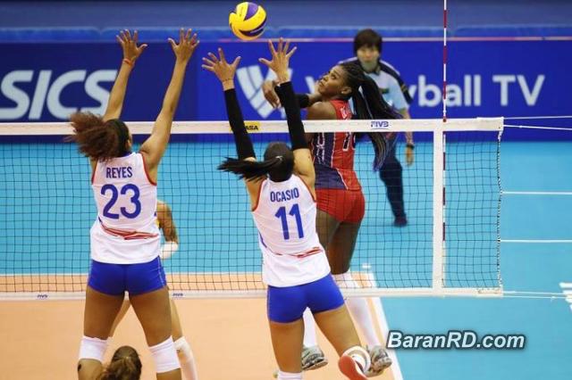 Reinas del Caribe vencen a Puerto Rico en Mundial Voleibol