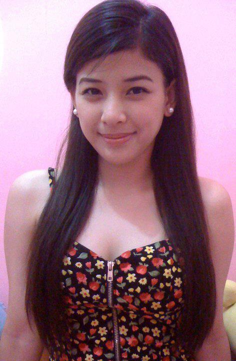 Filipinas Beauty Pretty Filipina Campus Coed-5613