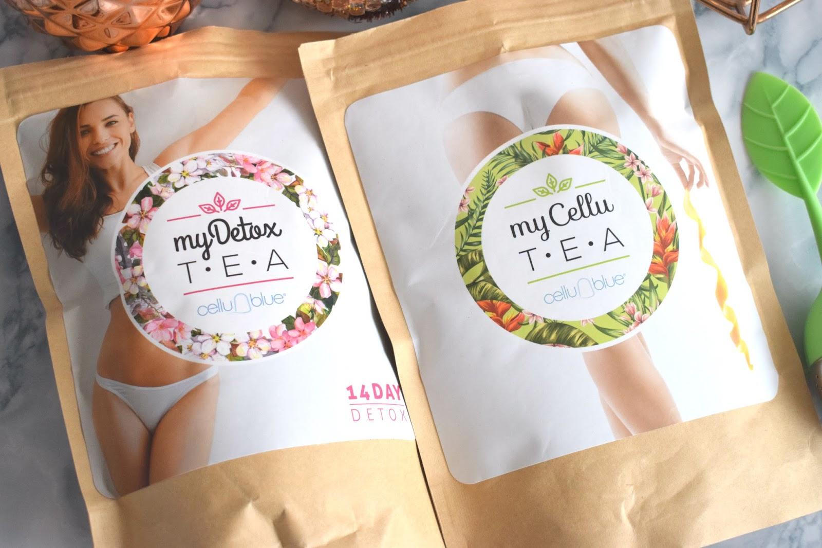 Merveille Beauté: My Detox Tea & My Cellu Tea de Cellublue