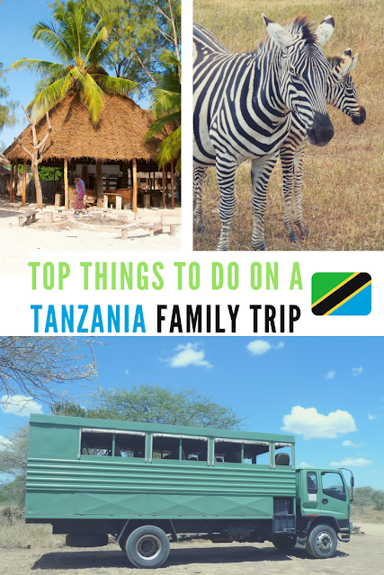 Top things to do during your Tanzanian family holidays