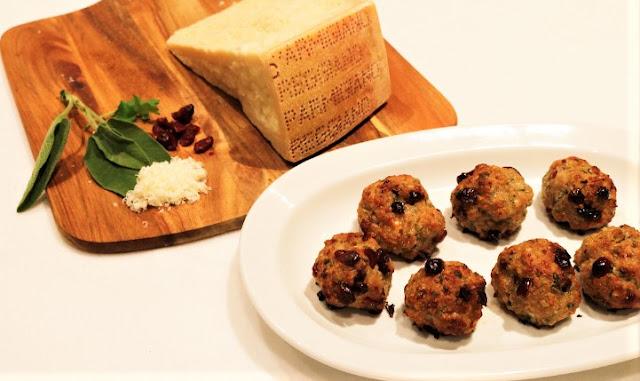 Italian Sausage, Parmigiano Reggiano & Cranberry Stuffing