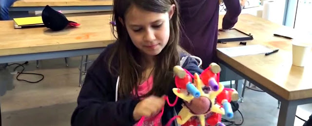 Watch This 10year-old has built a Prosthetic Arm that Shoots Glitter