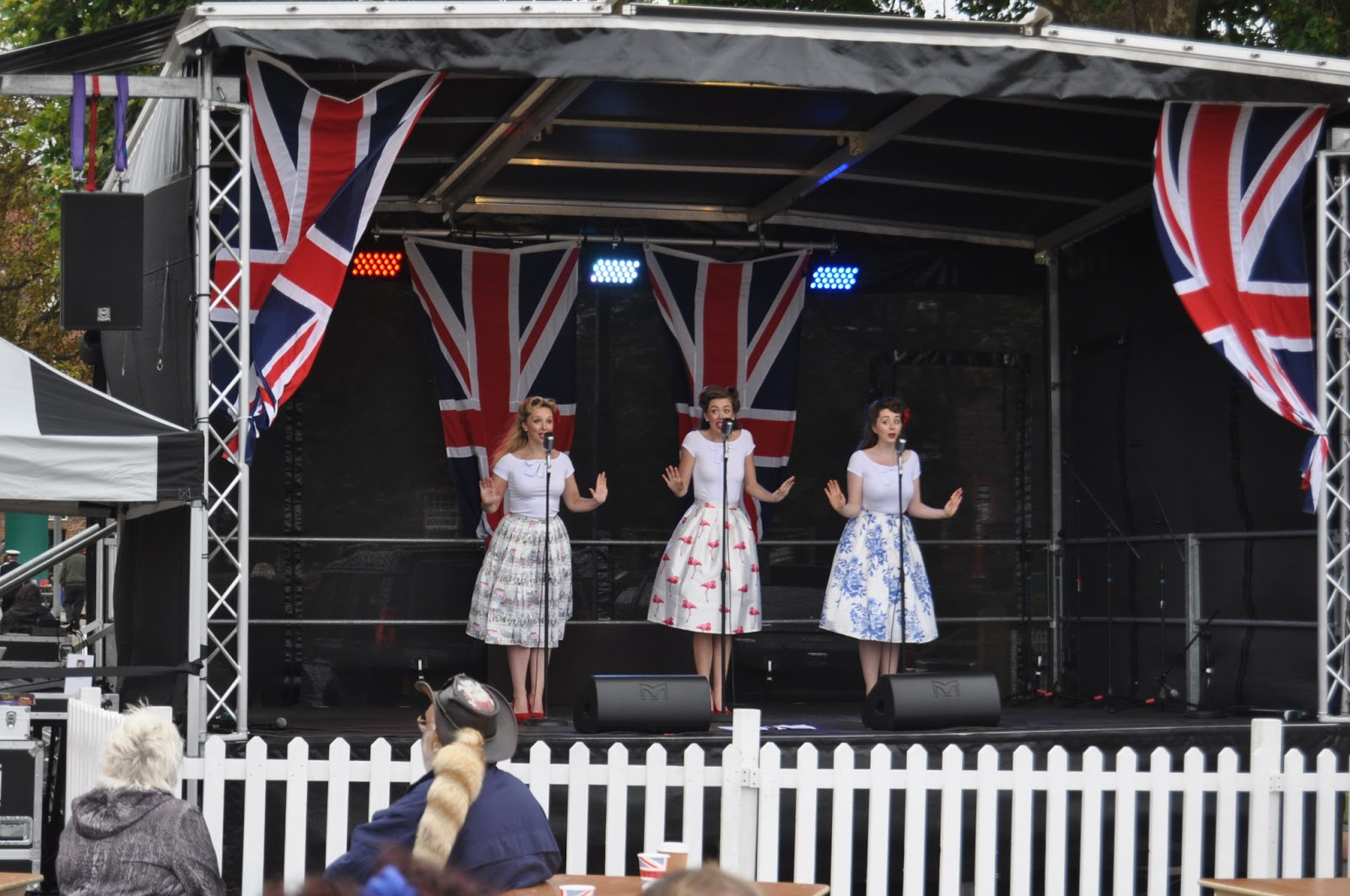 Days Out near London - Salute to the 40s at Chatham Dockyards, photos by modern bric a brac
