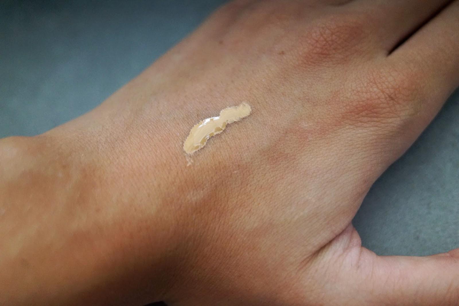 bareminerals bareskin brightening serum swatch