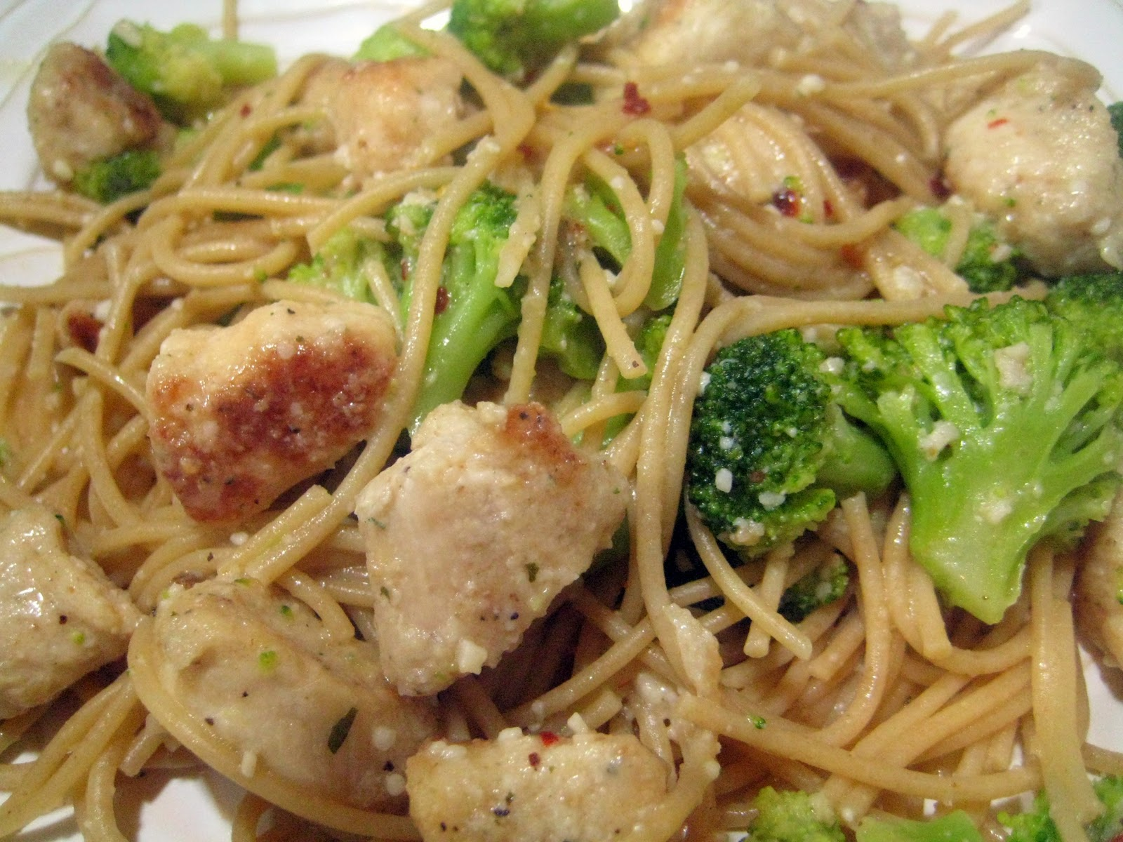 4 Cheese Chicken And Broccoli Pasta