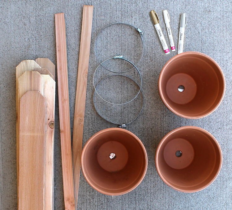 The Craft Patch Make Your Own Cedar Fencing And Terra