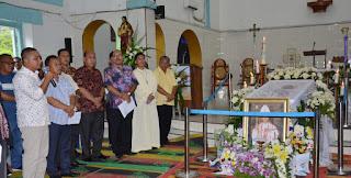 Bupati Ucapkan Belasungkawa Mendalam Kepada Uskup Ludovicus Simanullang