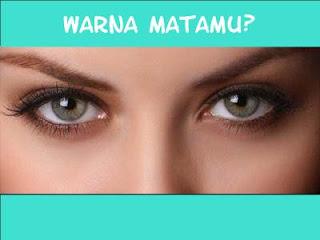 Warna mata, Eye color