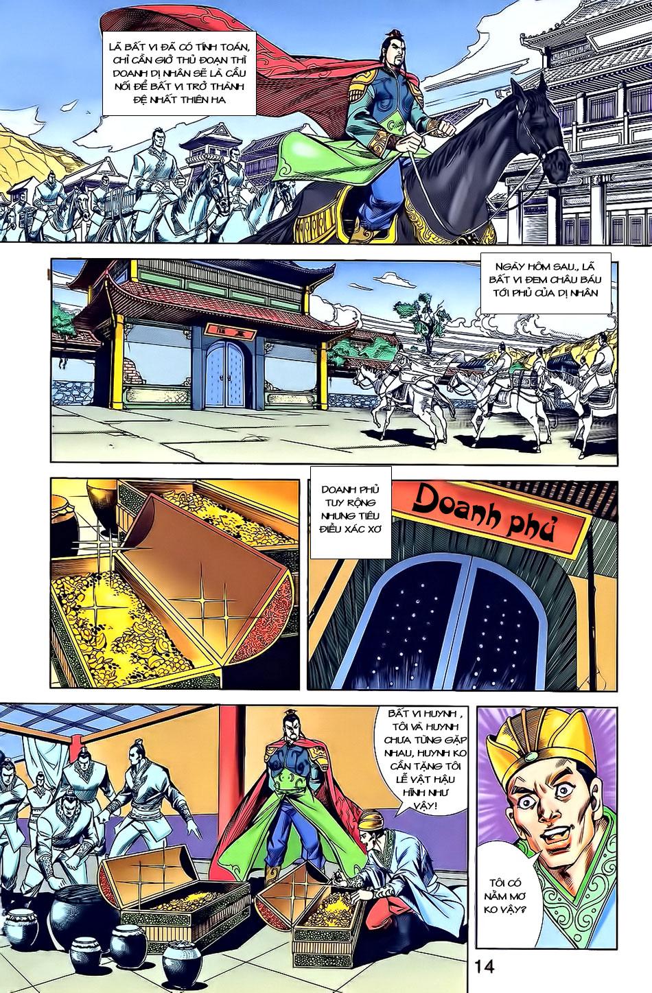 Tần Vương Doanh Chính chapter 3 trang 16
