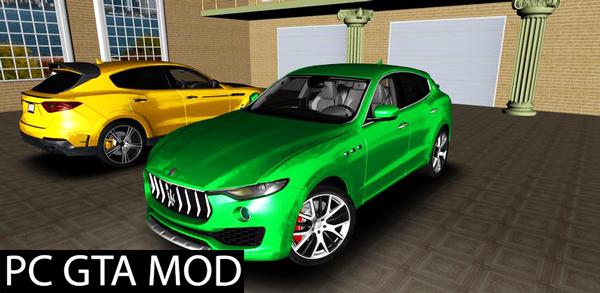 Free Download Maserati Levante 2017 Mod for GTA San Andreas.