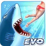Download Hungry Shark Evolution (MOD, Coins/Gems) free on android