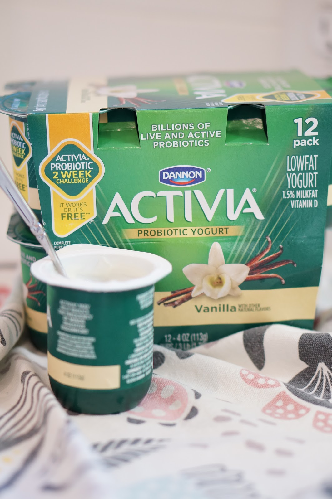 Popular North Carolina style blogger Rebecca Lately shares her 2 week Activia challenge. Click here to read how she made a healthy switch in her routine!