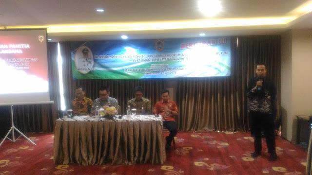 Tingkatkan Pengelolaan JDIH Biro Hukum Gelar Workshop