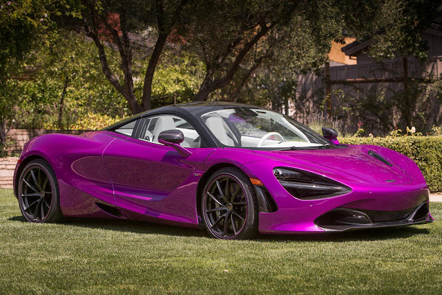 Awesome McLaren 720S MSO fuxia for Michael Fux