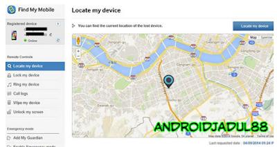 Cara Melacak Hp Samsung Yang Hilang Dengan Email find me mobile