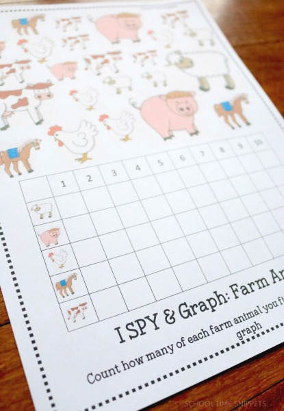 farm theme printable