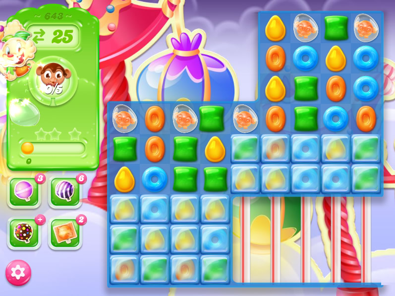Candy Crush Jelly Saga level 643