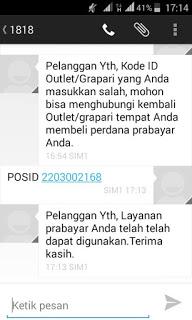 kumpulan kode id outlet penjual telkomsel simpati dan kartu as untuk mengatasi masalah gagal registrasi