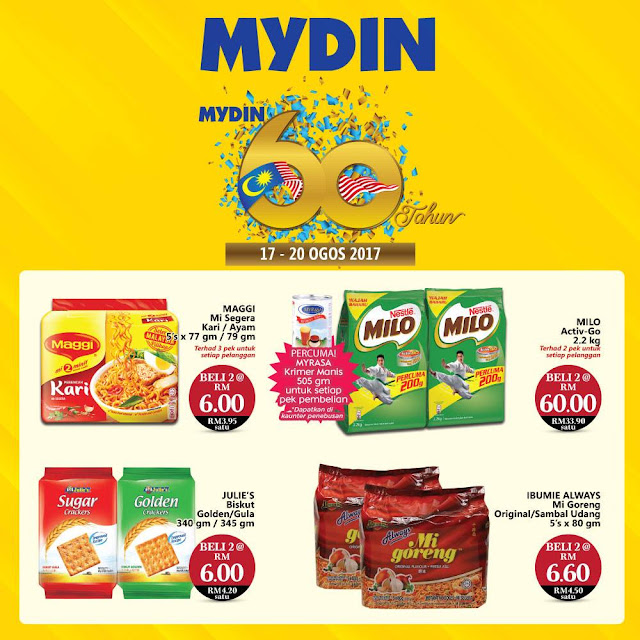 MYDIN Malaysia Food & Grocery Discount Offer Promo