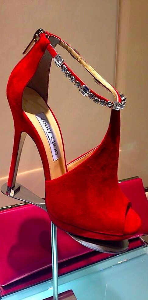 jimmy choo, red, red shoes, Christmas, red heels