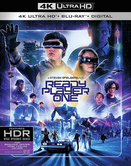 Ready Player One 4K: Comienza el juego (2018) 2160p 4K UltraHD HDR BluRay REMUX 72GB mkv Dual Audio Dolby TrueHD ATMOS 7.1 ch