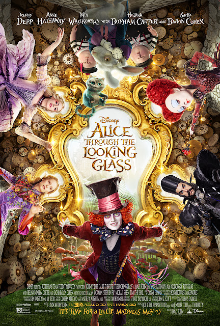 Looking Glass Trailer, Alice Through the Looking Glass Extended Spot, Alice Through the Looking Glass and Pink