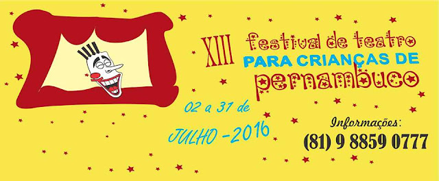 XIII Festival de Teatro para Crianças de Pernambuco