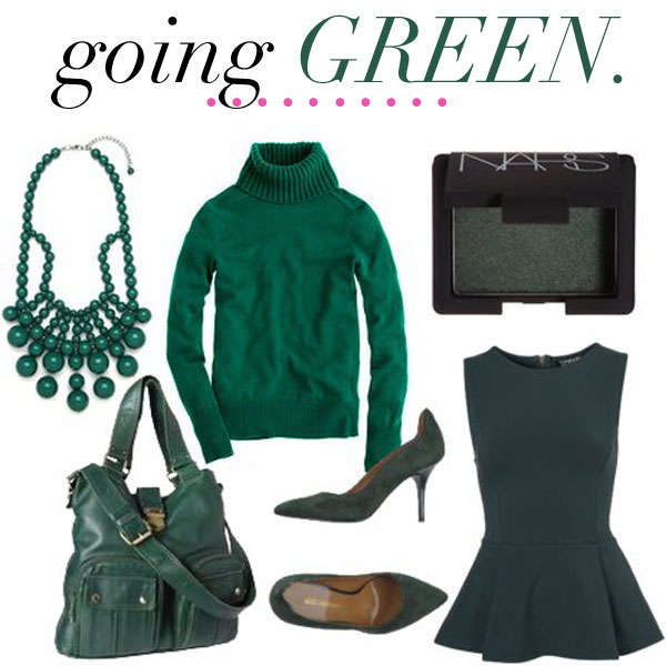 Jillgg S Good Life For Less A West Michigan Style Blog Color Trend Dark Green