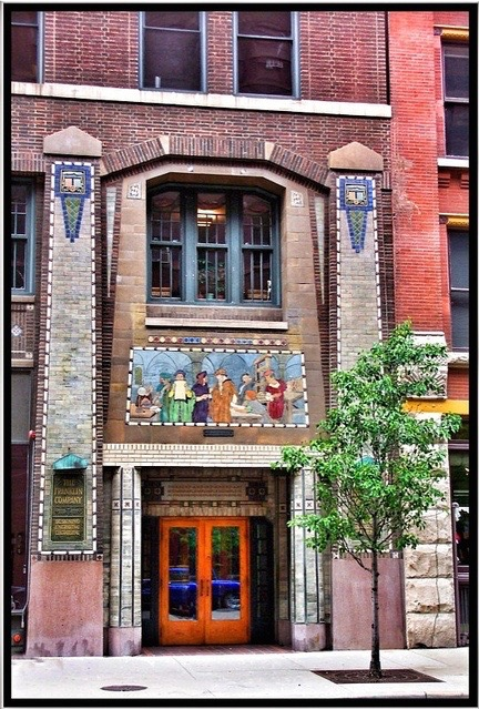 Antique Chicago building
