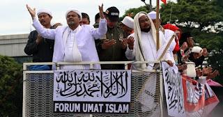 Insya Allah, Habib Rizieq Berikan Tausiyah Saat Aksi 299 di Depan Gedung DPR/MPR