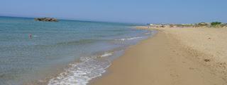 Playa de Chalikounas.