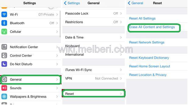 factory reset iphone 6 without passcode iphone iphone 5 reset without itunes 18404