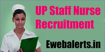 UP Staff Nurse Recruitment