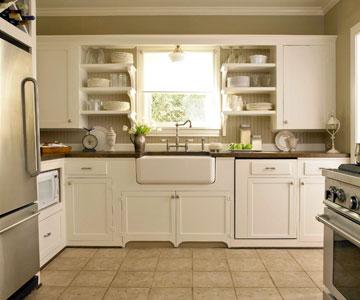 Kitchen Cabinet Remodel Small Upper Corner Attach