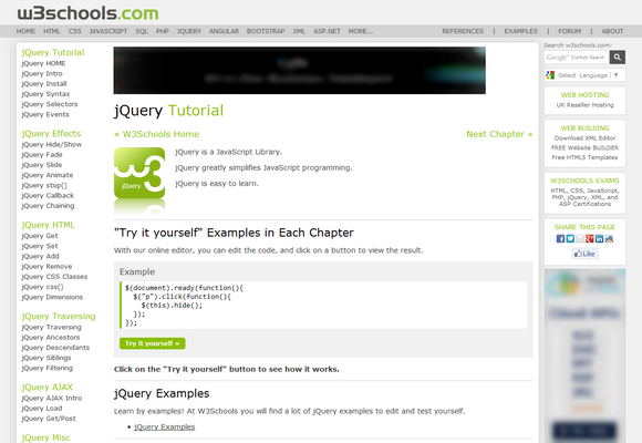 Top 7 Websites to Learn jQuery | Blogolect