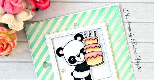 Birthday Bear Hugs - MFT Handmade Card