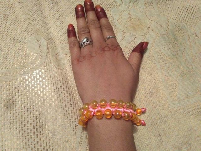 5 मिनट में बनाये macrame bracelet - educational power creation