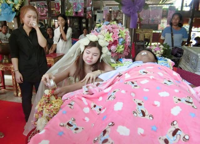 Mengerikan, Tradisi Nikahkan Mayat Demi Tolak Balak