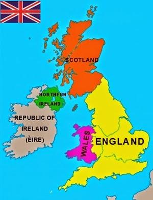 Büyük Britanya Harita