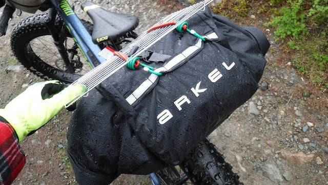 Arkel Rollpacker 25 bikepacking rain waterproof