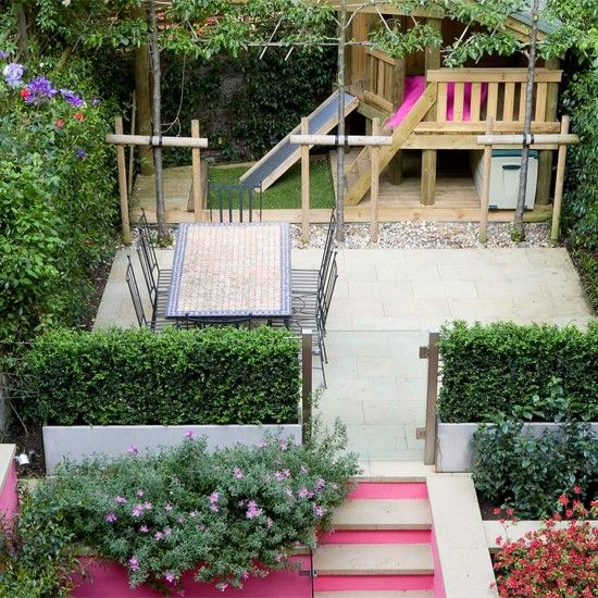 Cool shade gardens for happy healthy summers happy loves for Children friendly garden designs