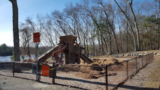 DelCarte playground closed at least until the end of April when repairs will be made