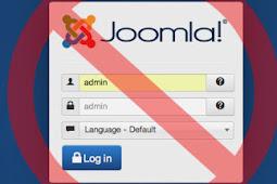 Tutorial Joomla Security