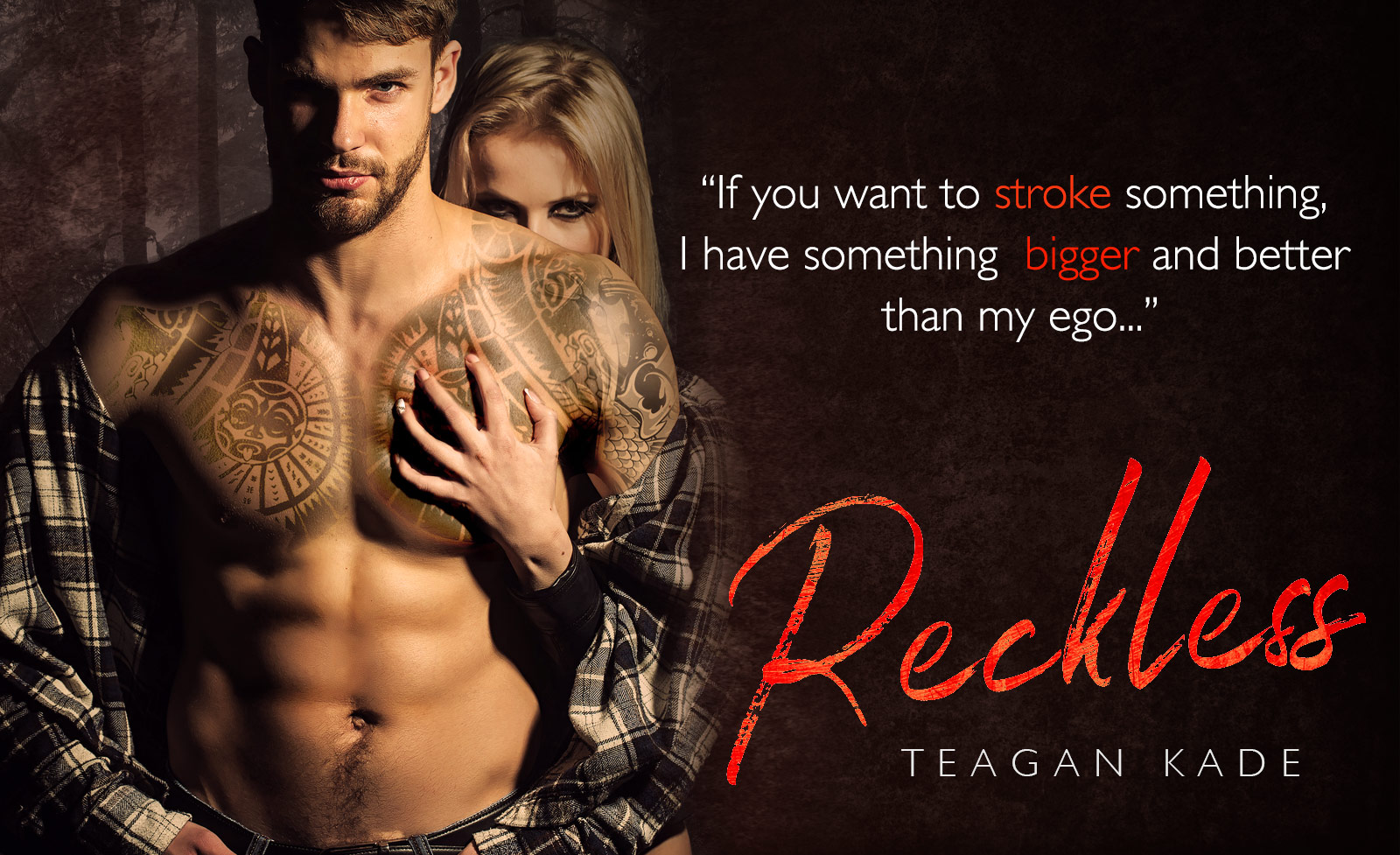 Tegan Kade Reckless: Cover Reveal - Four Chicks flipping pages