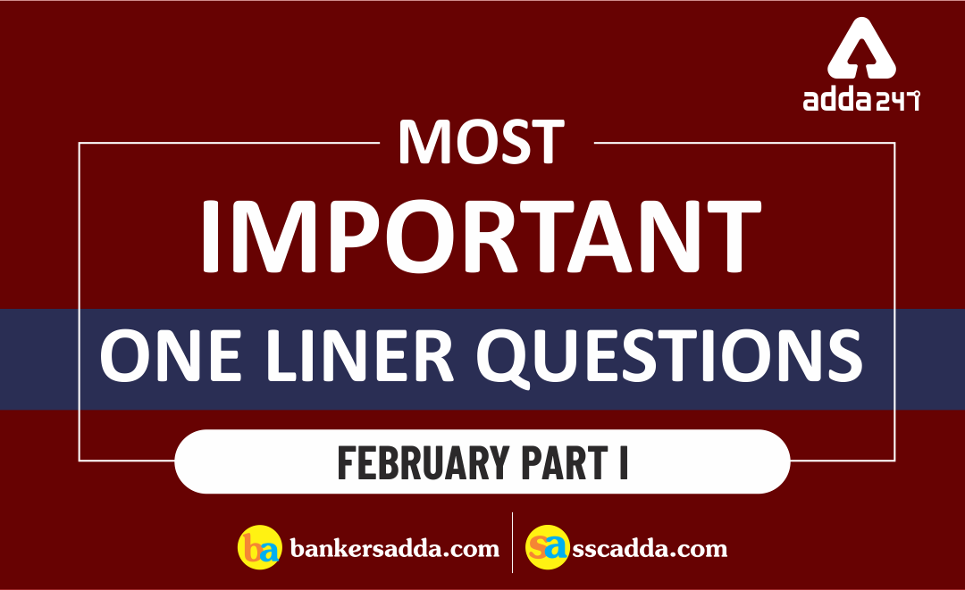 current-affairs-one-liners-of-february-2019