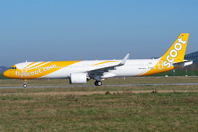1st A321NEO for Scoot